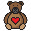 animal, bear, face, teddy, toy