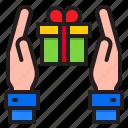 Box Gift Giftbox Party Present Icon
