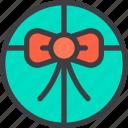 birthday, box, circle, gift, order, present icon