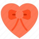birthday, box, gift, heart, order, present icon
