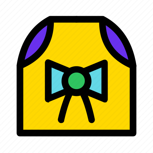 bow, box, christmas, gift, paper, present, yellow icon