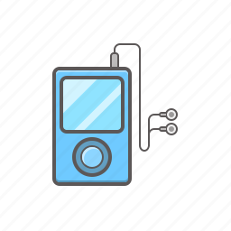 ipod, music, music player icon