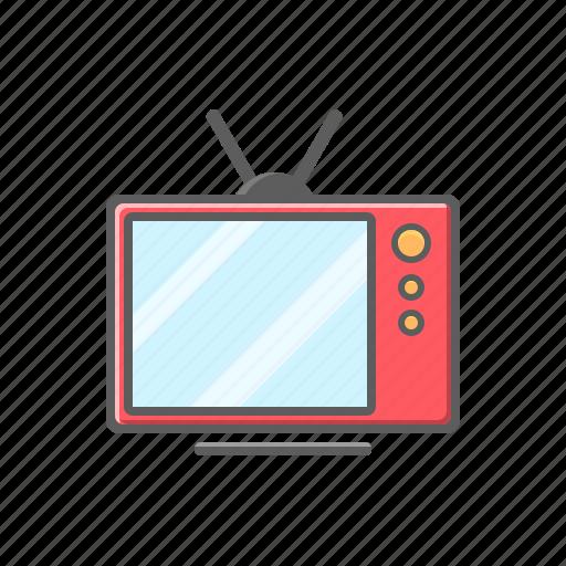 television, television icon, tv, tv icon icon