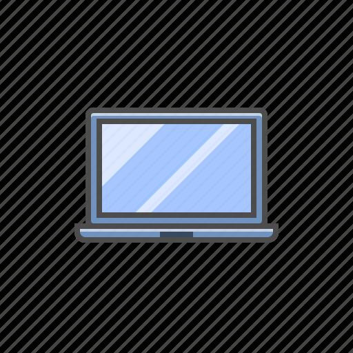computer, hardware, laptop, laptop icon icon