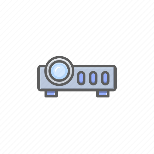 cinema, gadget, projector icon