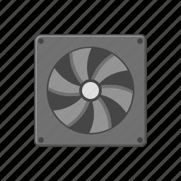computer fan, cpu icon, fan, hardware, mother board icon