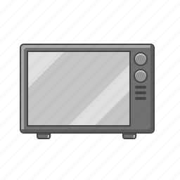 electronics, kitchen, kitchen appliance, microwave, microwave oven icon
