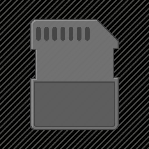 card, micro sim, mobile, sim, sim card, smart phone icon
