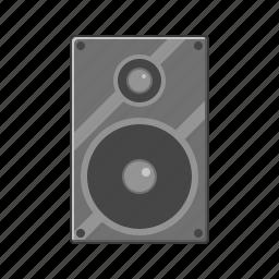 audio, music, sound, sound box, speaker icon, woofer icon