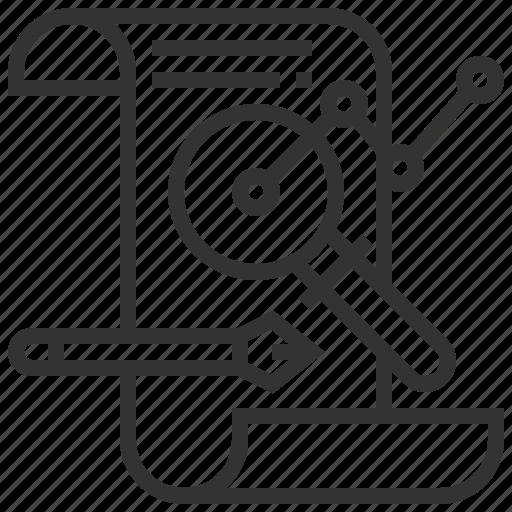 analysis, business, chart, finance, graph icon