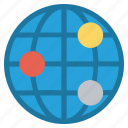 circle, cosmos, global business, globe, orbit, space, technology
