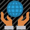 custom care, global business, global solution, hands, international service