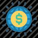 currency, dollar, globe, international, money, usd, world