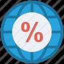 browser, earth, global, global business, globe, percentage, world