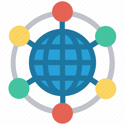 communication, connection, global business, interaction, network icon