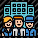 call, around, support, clock, globalbusiness icon