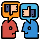 feedback, globalbusiness, good, rating, response icon