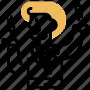 advantage, business, cost, economy, scale icon
