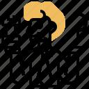 decision, solution, analysis, strategic, vision icon