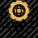 business, global, international, management, marketing icon