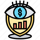 providence, vision, strategy, analysis, business icon