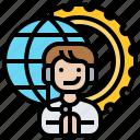 contact, global, international, service, worldwide