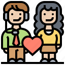 customer, loyalty, relationship, service, support icon