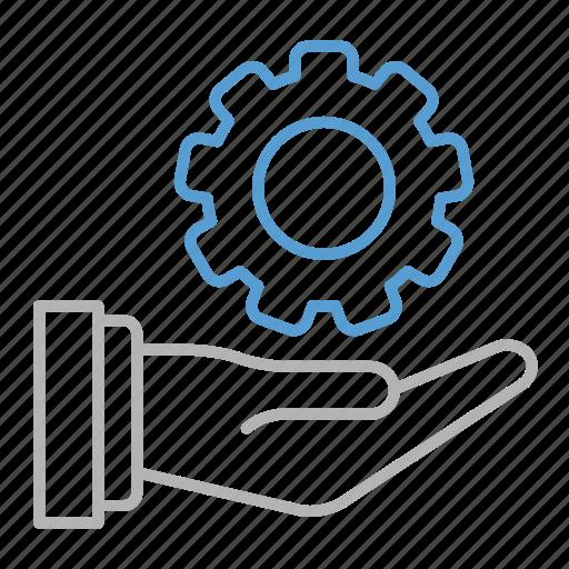 business, development, gear, seo, solution icon