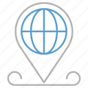 business, global, location, pin