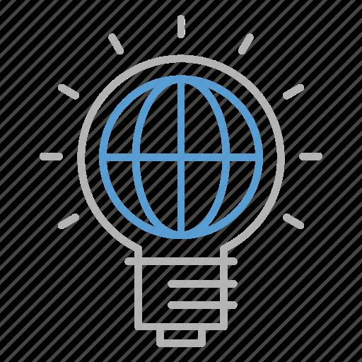 bulb, business, creative, ideas, international icon