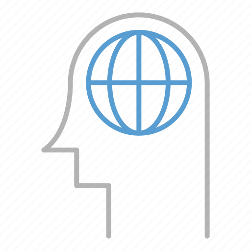 business, global, ideas, seo, think icon