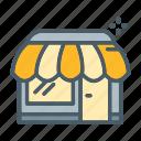 ecommerce, market, shop, store, trade