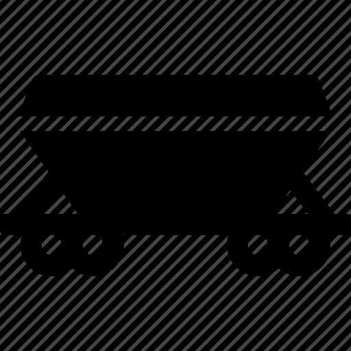 cargo, carriage, railroad, train, transport, transportation, wailway icon