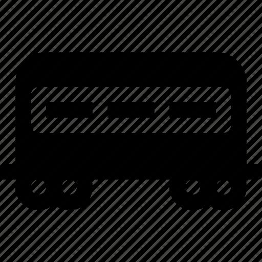 carriage, passenger, railroad, railway, train, transport, travel icon