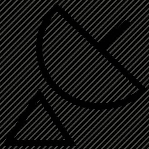 antenna, dish antenna, radar, satellite, transmission icon
