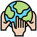 ecology, global, help, love, warming icon