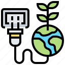 ecology, global, saving, unplug, warming