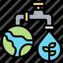 ecology, global, save, warming, water