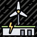 energy, plant, power, wind, windmill