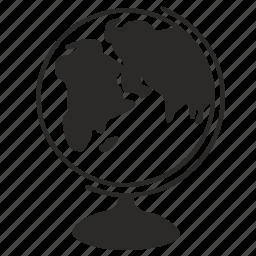 classic, globe icon
