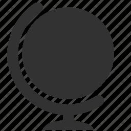 form, globe, world icon