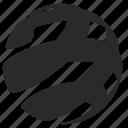 conture, globe, lines icon