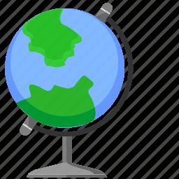 geo, globe, location, world icon