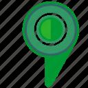 geo, green, location, pointer