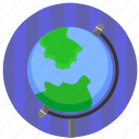 geo, globe, home, map, world icon