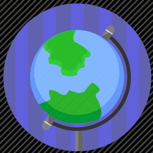geo, globe, home, map, world icon