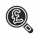british, business, cash, coin, financial, payment, pound icon