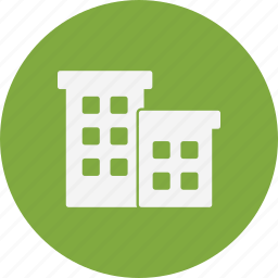 appartment, building, house icon