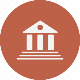 bank, finance, institute icon