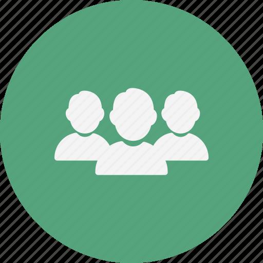 business team, leader, team icon